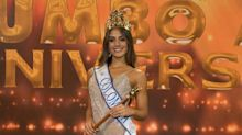 Eligen a la nueva Miss Colombia y su corona casi termina en el piso