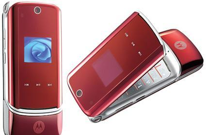 Verizon prepares to launch fire red KRZR