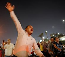 Egypt's hardline president el-Sissi faces calls to quit in rare protests