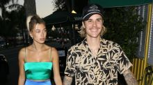 Justin Bieber Can't Stop Smiling on Date With Hailey Baldwin
