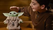 Hasbro's Adorable Baby Yoda Animatronic Toy Is Already Sold Out on Disney's Online Store