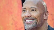 This pic of The Rock getting his nails painted by his 3-year-old daughter is our new everything