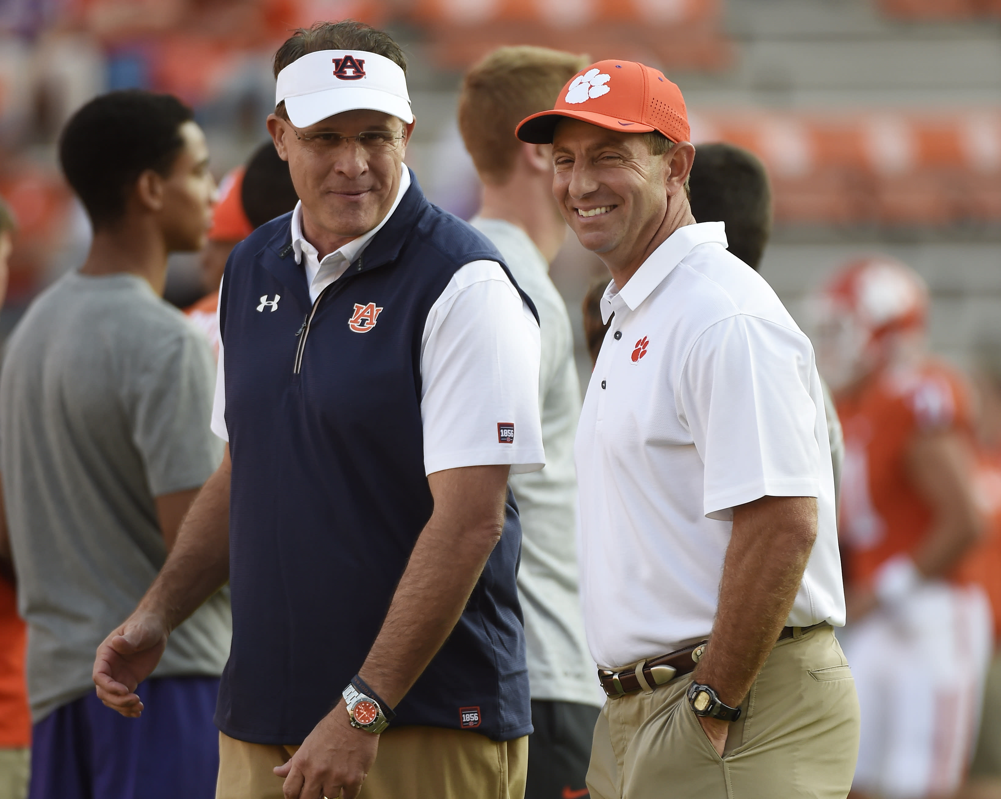 Clemson's Dabo Swinney had awesome pregame moment with ...