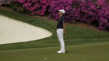Kim breaks putter but contends at Masters