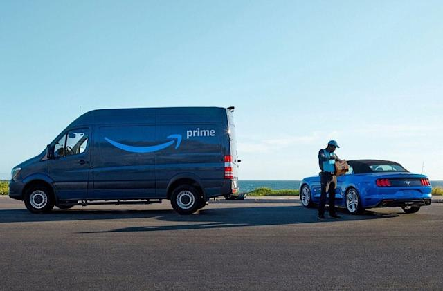 Amazon will deliver packages to the trunk of your Ford or Lincoln