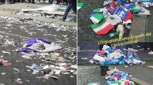 Manifestazione Lega: le foto bufala del degrado a Piazza San Giovanni