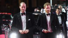 Prince William and Prince Harry Celebrate 'Star Wars: The Last Jedi' Cameos at Film's London Premiere