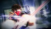 Flippin' out with Strider Hiryu