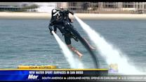 New water sport surfaces in San Diego