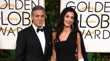 George Clooney Shops His Closet, Wears His Armani Wedding Tuxedo to 2015 Golden Globes