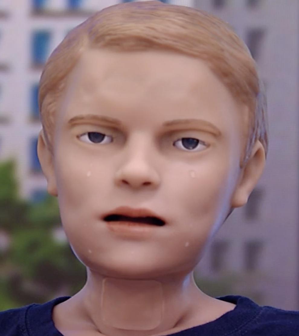 Meet the lifelike robot who bleeds, screams and cries
