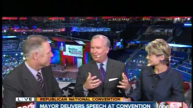 Tampa Mayor Bob Buckhorn the only Democrat to speak at RNC