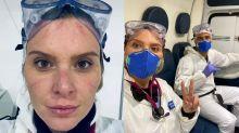 Médica e ex-repórter da Globo, Karina Oliani atua no combate ao coronavírus