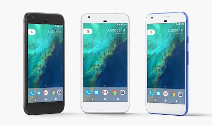 Google's Pixel phones make their debut