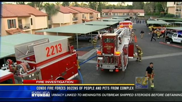 11PM Wednesday, October 24 Update: Apartment complex damaged in 3-alarm fire