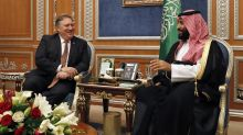 Pompeo meets with Saudis over case of missing journalist