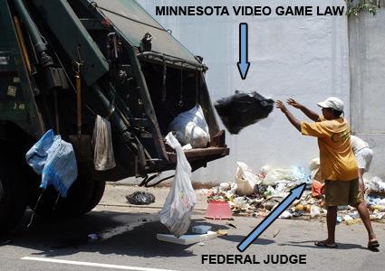 Minnesota's game law ruled unconstitutional