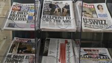 Complaints as UK paper focuses on leaders' legs, not policy
