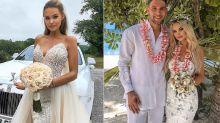 'I'm not a bridezilla': Bride slammed after revealing her five wedding gowns cost $90,000