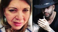 Roberta Miranda é barrada por segurança de Gusttavo Lima
