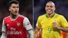 Martinelli empolga Ronaldinho Gaúcho e responde à comparação 'louca' com Ronaldo