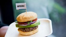 With $450 million in funding, Redwood City-based food tech startup finally ready to sell fake-meat burgers in stores