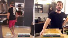 Tous en cuisine en direct avec Cyril Lignac: Jérôme Anthony taclé par Mr Poulpe, mais félicité par le chef d'M6