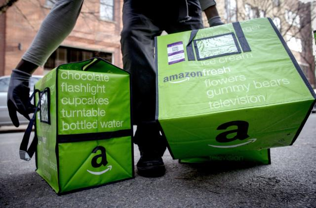 Amazon's grocery deliveries now cover 190 London postcodes