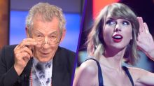 Here's Ian McKellen Singing Taylor Swift and Bruno Mars Songs, Obviously