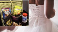 Bride's text slamming wedding guest's gift slated online