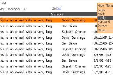E-mail client for homebrew users
