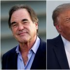 Oliver Stone says 'unhealthy' Trump 'talks like a fool but talks like many people'
