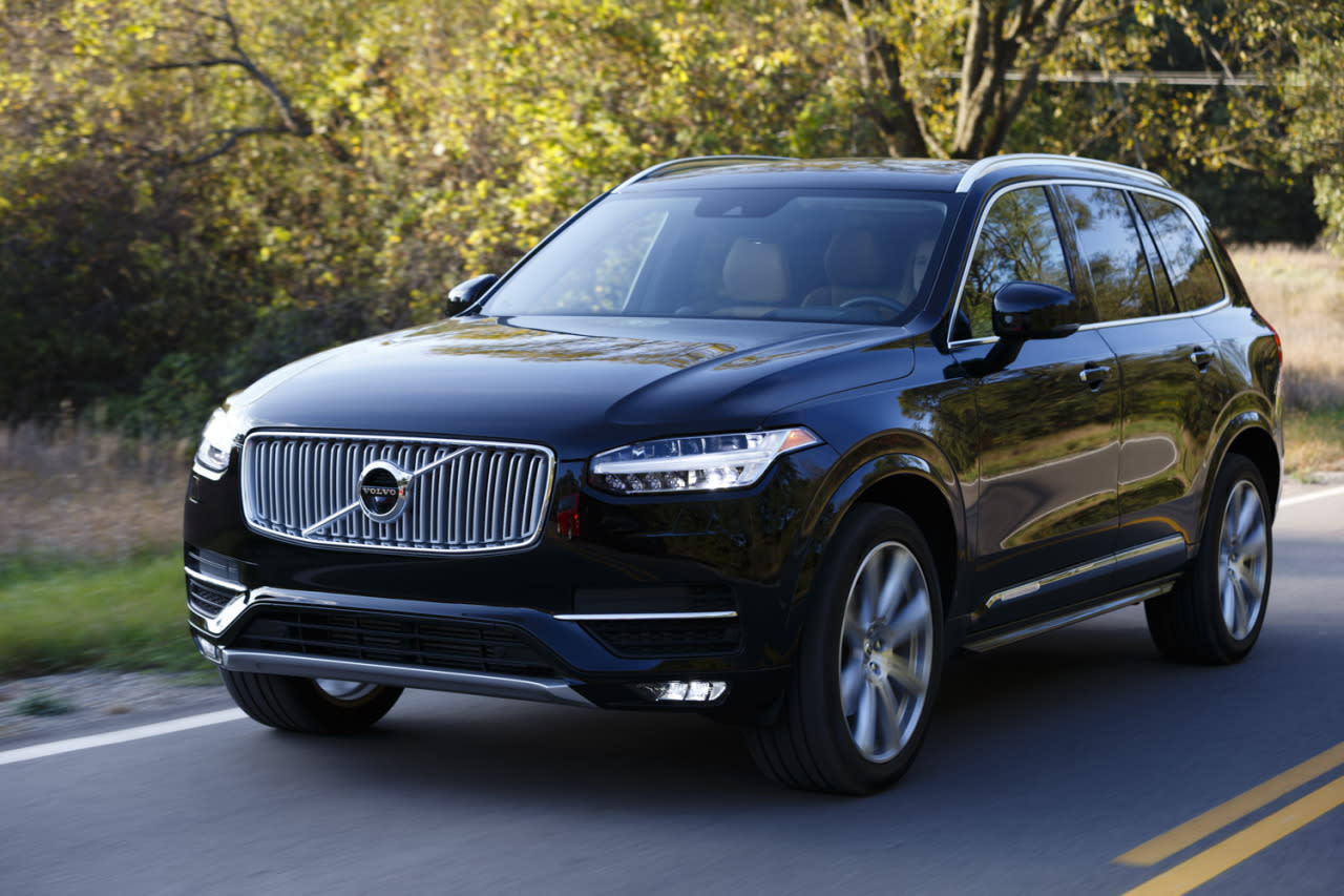 PThe 2016 Volvo XC90 Ran Away From The Competition Winning North