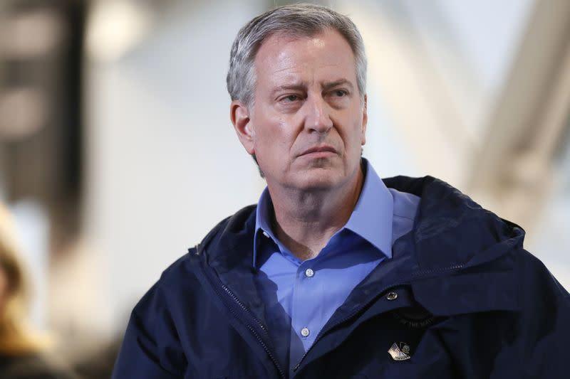 New York mayor 'heartbroken' over shooting death of one-year-old