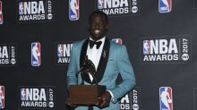 Draymond Green wins Defensive Player of the Year at 2017 NBA Awards Show