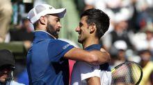 Benoit Paire sort Novak Djokovic