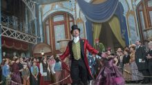 Hugh Jackman is doing a live TV ad for The Greatest Showman