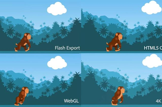 Adobe bows to HTML5 and renames its Flash Professional app