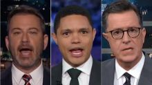 Late Night Hosts Nail The Most Meme-able Moments From The Democratic Debate