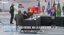 """Gaffe Trump: """"Farà freddo, ma la scienza non lo sa"""""""