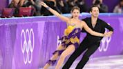 Fringe costumes are all the rage in the ice dancing competition