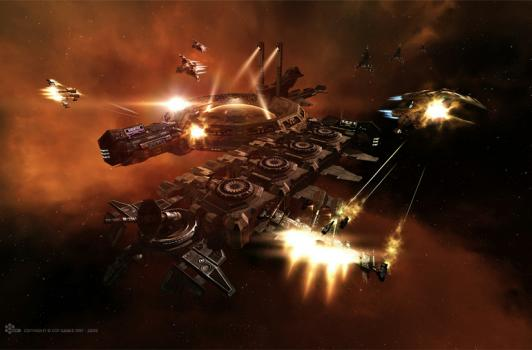 EVE's Dominion 1.1 patch to bring supercarrier changes, fighter bombers