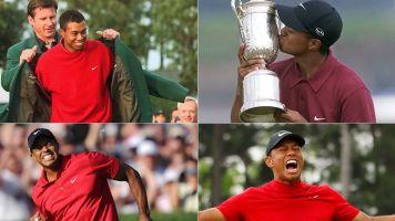 Where does Tiger's latest major win rank?