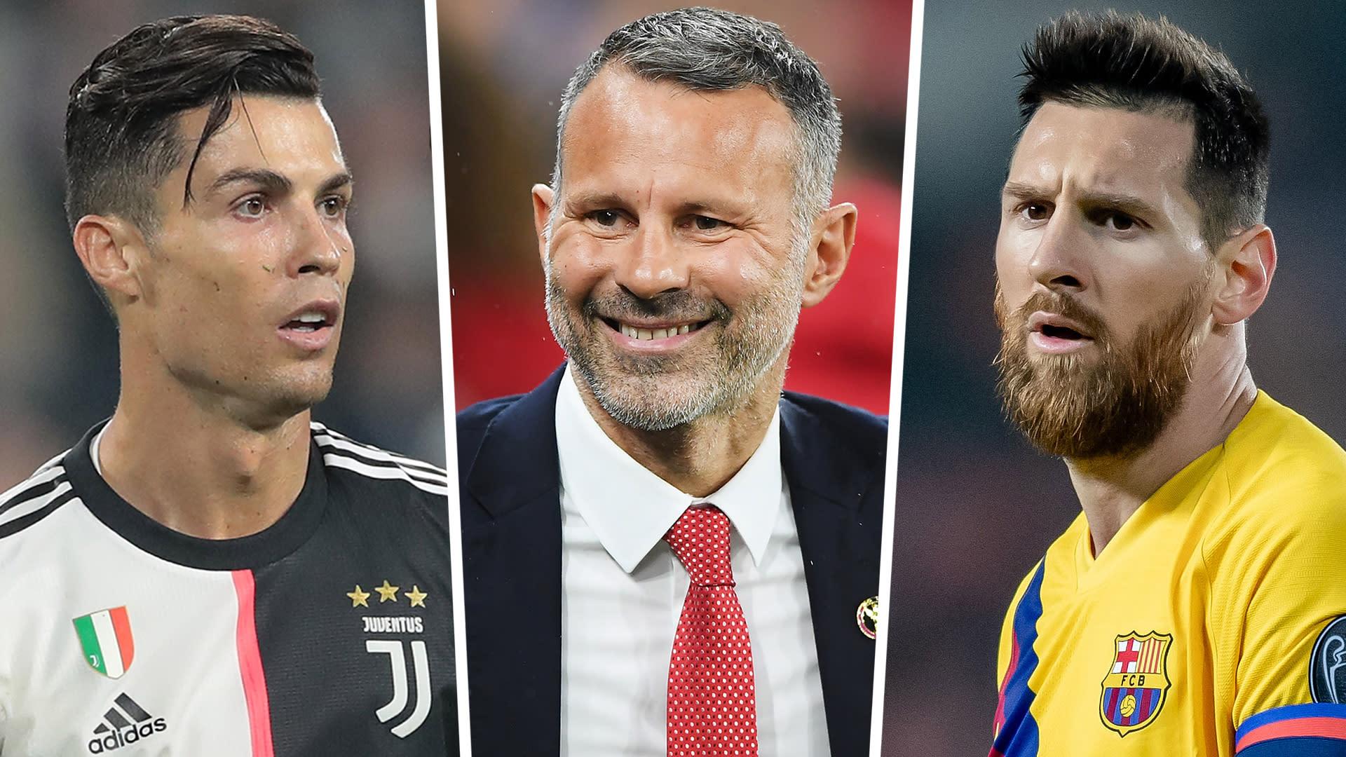 Giggs On Messi Ronaldo Debate Genius Barca Star Is A Once