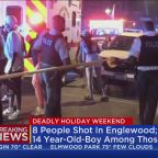 14 People Shot In Two Mass Shootings During Holiday Weekend; 14-Year-Old Among Killed