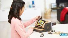 Nintendo unveils cardboard Switch accessories