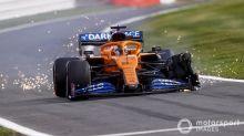 """Sainz lamenta pneu furado em Silverstone: """"Sorte não esteve comigo"""""""