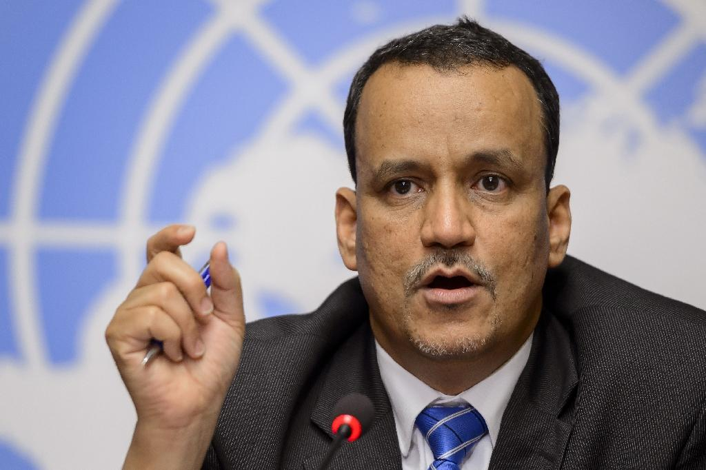 Ismail Ould Cheikh Ahmed took over as the United Nations Special Envoy for Yemen in 2014 (AFP Photo/Fabrice Coffrini)