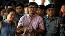 Myanmar policeman denies planting documents on Reuters reporters