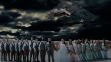Star Wars superfans had the most extreme themed wedding
